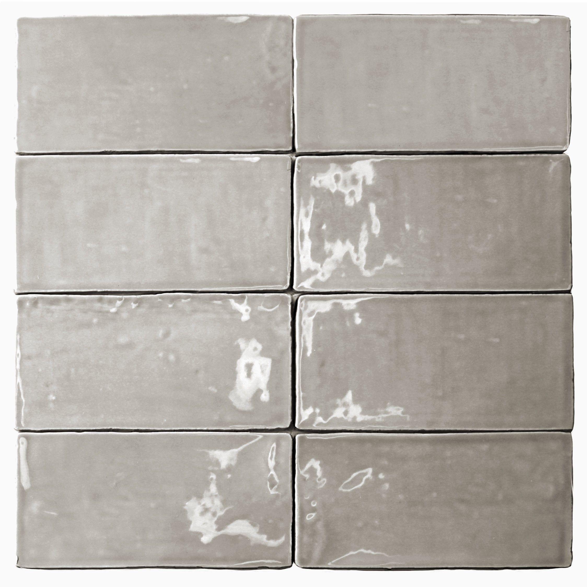 Lancaster | 3x6 Dove Polished Ceramic Tile | | Tile | | Pinterest