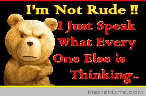 d6cd3295112d94ba25a5c8ab7e345da4 ted movie meme rude funny shit pinterest meme, movie and