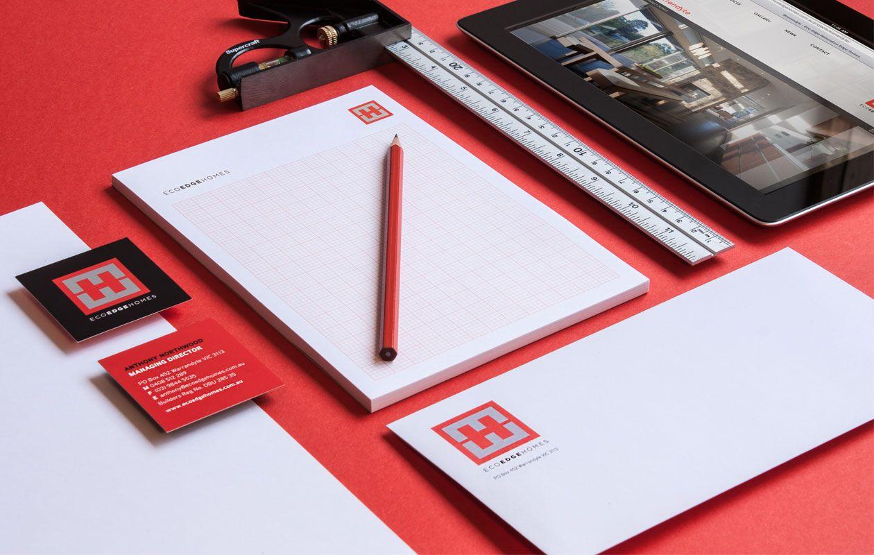 Eco Edge Visual Identity & Stationery | Logo design & Visual Identity by Studio Alto #logo #design #identity #graphicdesign #typography #illustration #melbourne #studio #stationary