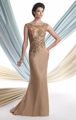 New Hot Le Mother Of The Bride Evening Prom Dress Custom All Size