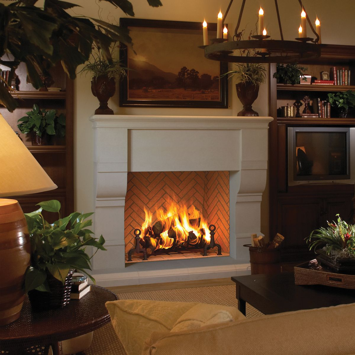 Grand Meridian By Astria This Modular Masonry Fireplace System
