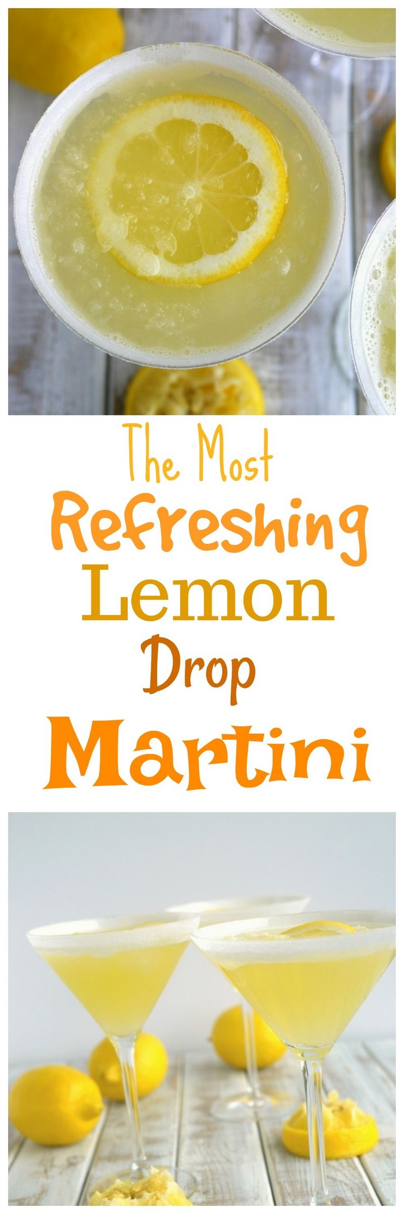The perfect lemon drop martini should be refreshingly tart, not cloyingly sweet. Lucky for you this is The Most Refreshing Lemon Drop Martini! Give it a try soon from .