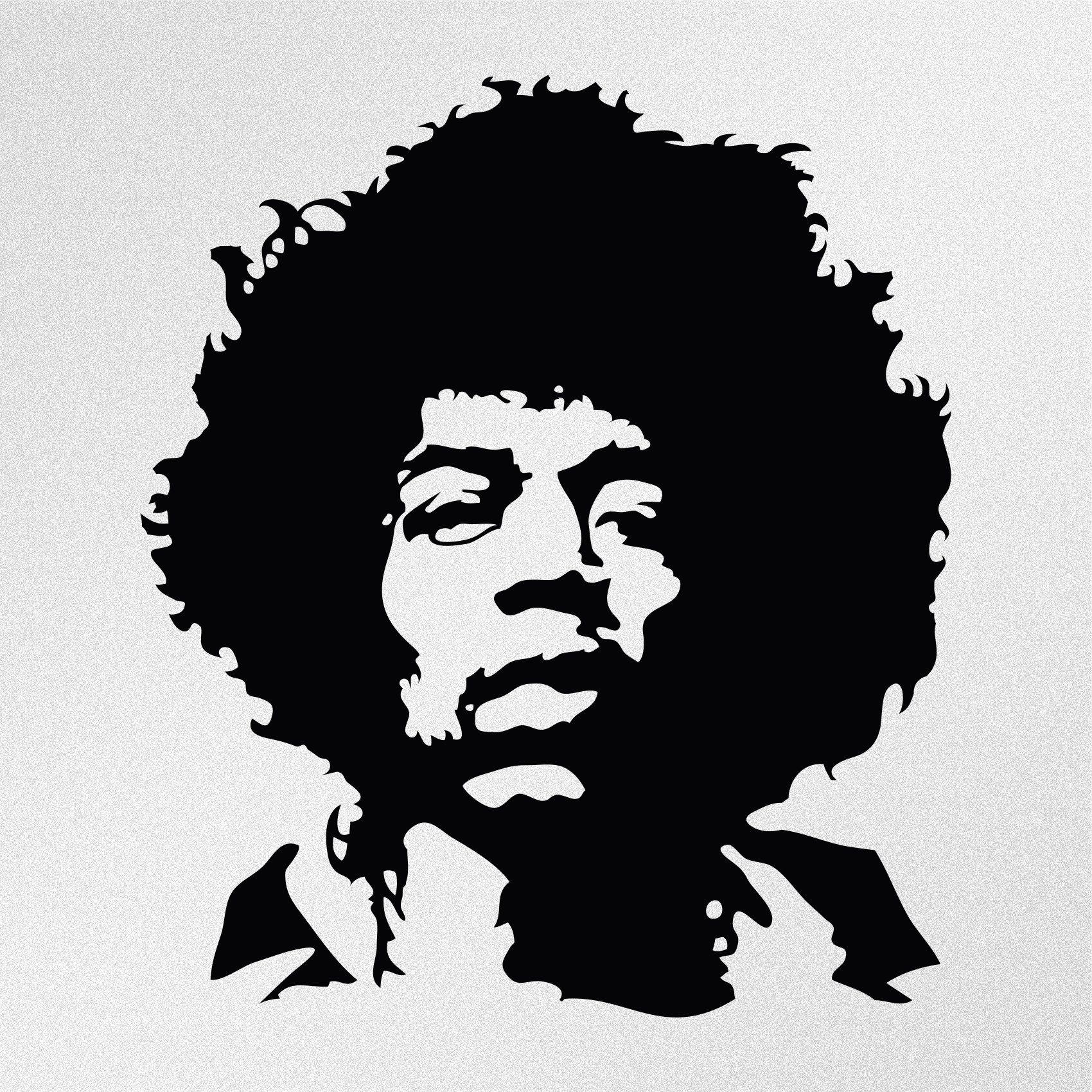 Jimi Hendrix Portrait Vinyl Decal Sticker Etsy Jimi Hendrix Art Jimi Hendrix Jimi Hendrix Tattoo [ 1700 x 1700 Pixel ]