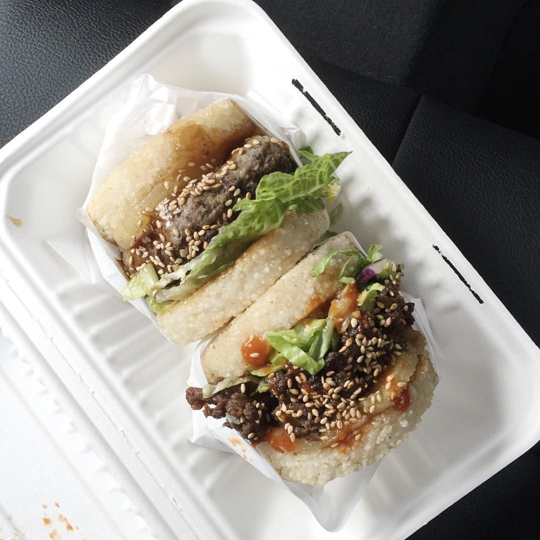 Koja Kitchen Offers A Variety Of Korean Burgers In Fried Garlic