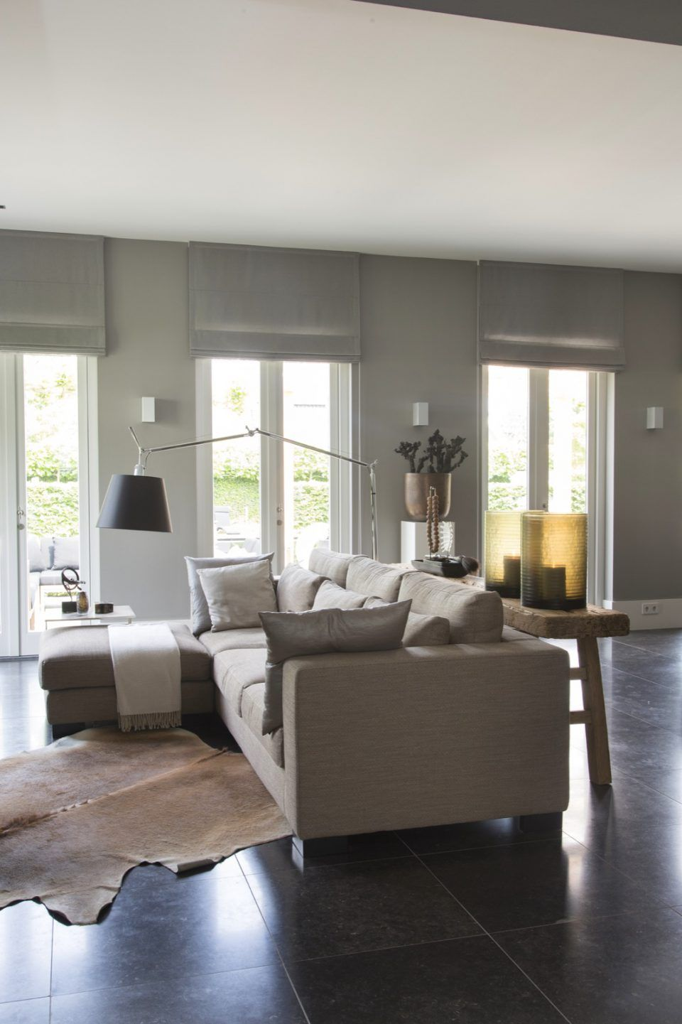 Luxe woonkamer ontwerp met design meubels - Salon | Pinterest - Luxe ...
