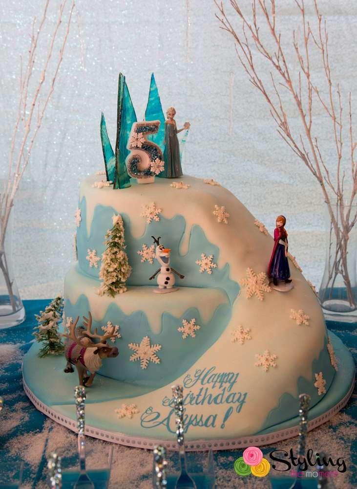 Frozen Disney Birthday Party Ideas Lillys Frozen 7th Bday