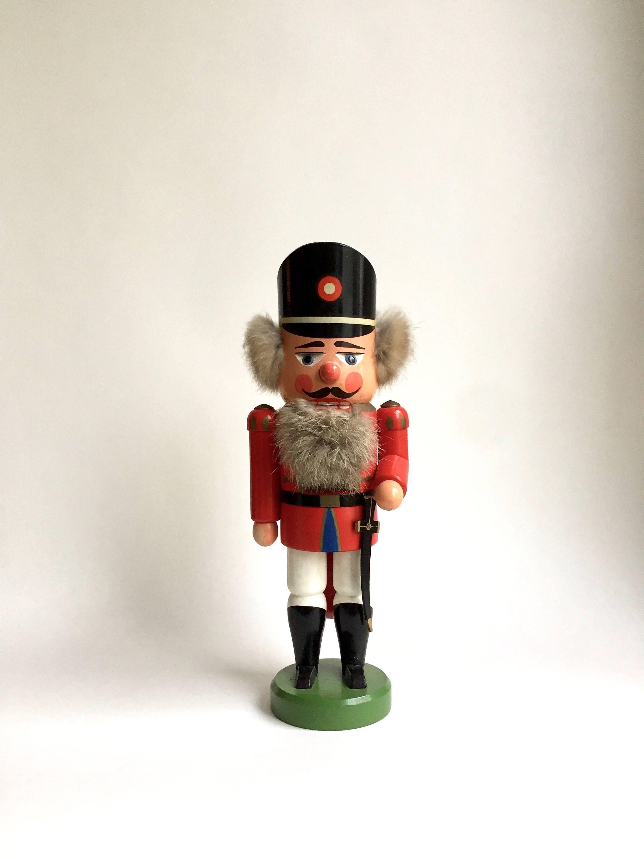Vintage Nutcracker, figure Christmas, Ore Mountains, Soldier ...
