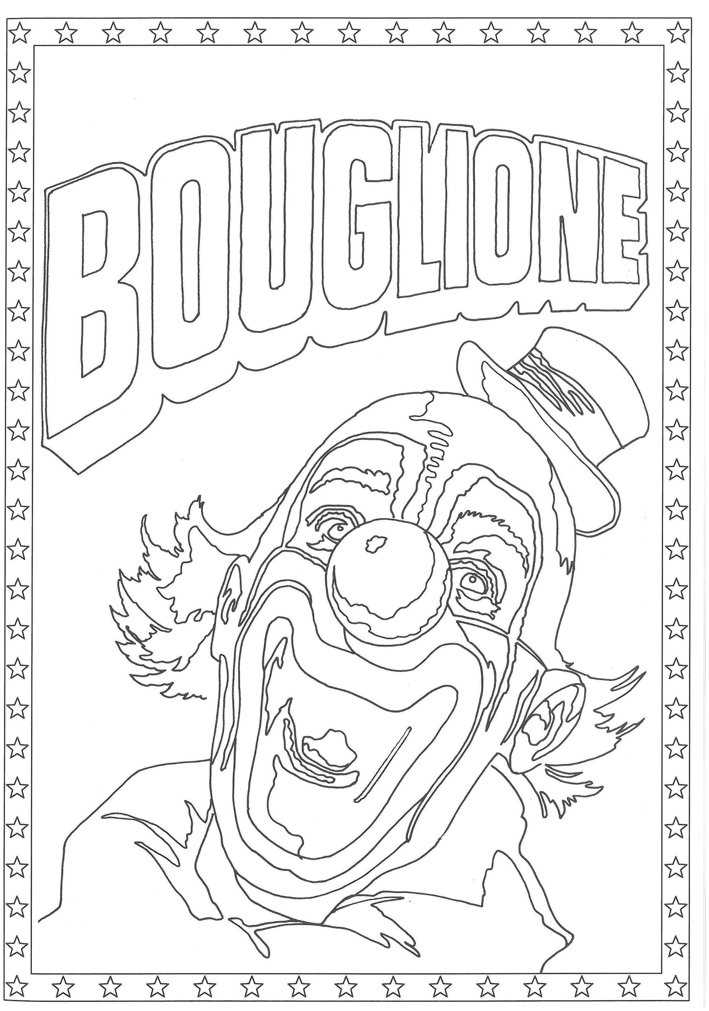 Coloriage Cirque Seurat.Epingle Par Cirque D Hiver Bouglione Sur Les Coloriages Du Cirque D