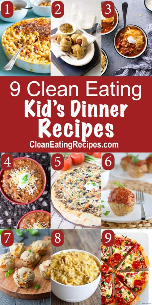Clean Eating for Kids Recipes and Kids at Heart images