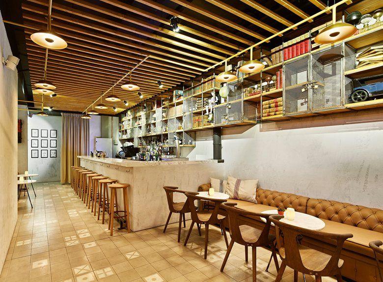 Weyler Cocktail Bar, Palma de Mallorca, 2013 - Negre Studio