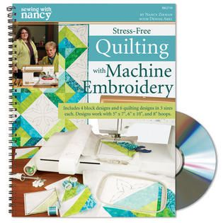 Stress-Free Quilting with Machine Embroidery | Nancy zieman ... : machine embroidery quilting designs free - Adamdwight.com
