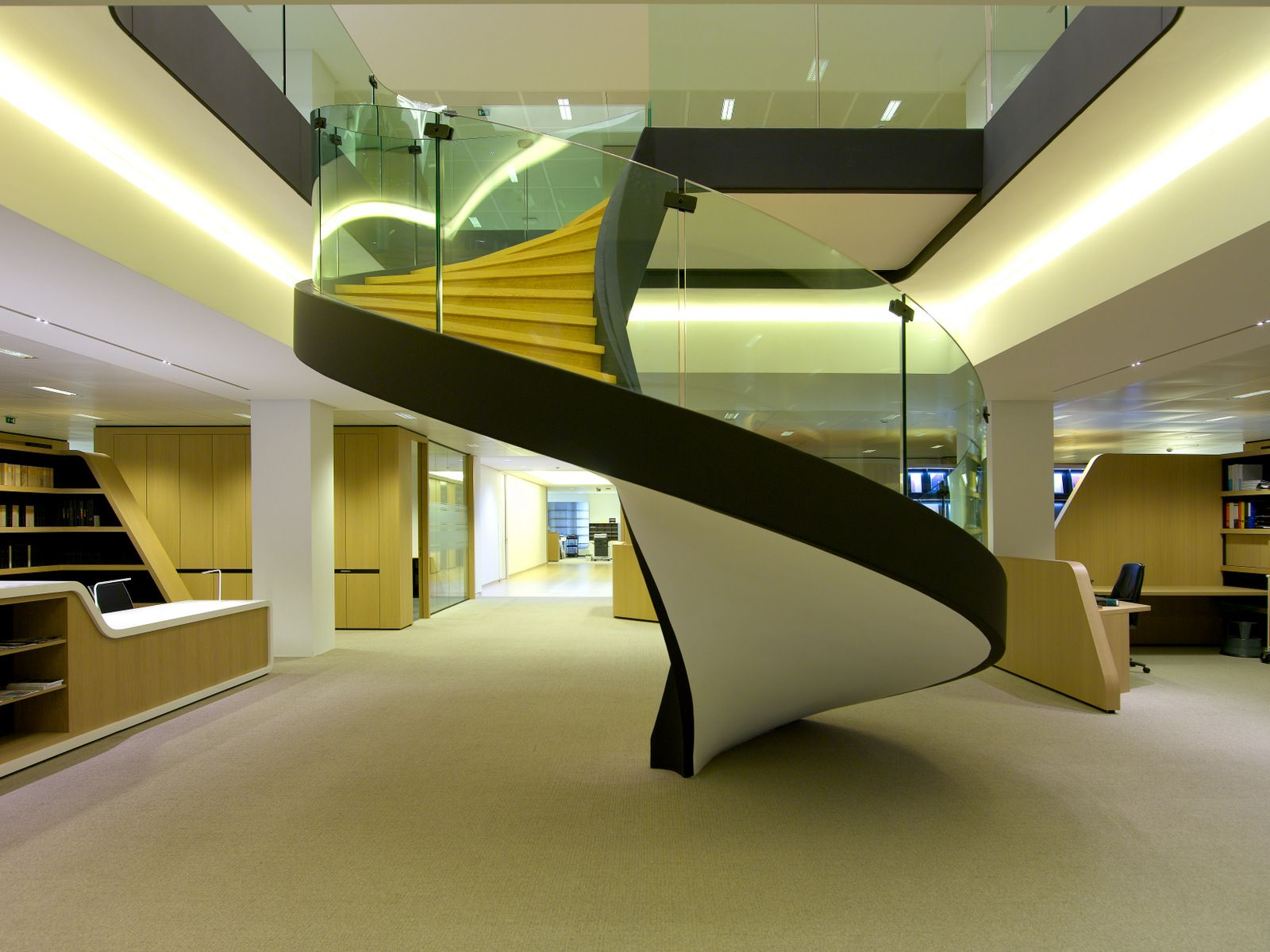 Best Office Tour Jones Day – Brussels Offices Stairs 400 x 300