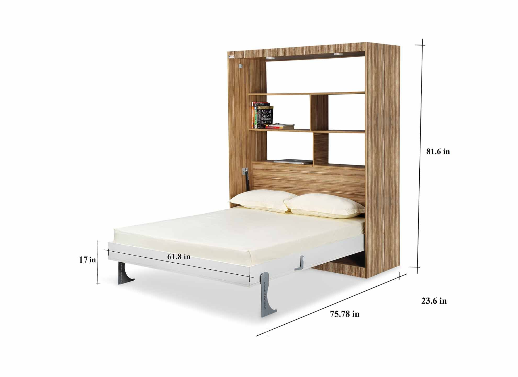 Ishelf Bookshelf Invisitable Max Table Invisible Bed Space Saving Furniture Wall Bed Murphy Bed Luxury Bedding Master Bedroom Luxury Bedding Best Bedding Sets