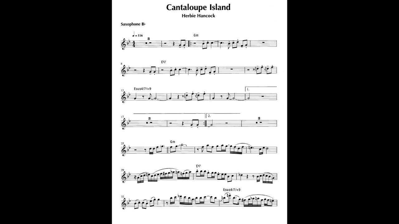 Cantaloupe Island Herbie Hancock Sax Tenor Bb Herbie Hancock Sax Sheet Music Stream songs including cantaloupe island, watermelon man and more. cantaloupe island herbie hancock sax