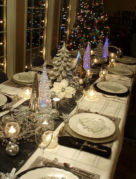 Top 50 Christmas Tablescapes Christmas Table Decorations Christmas Table Settings Christmas Decorations