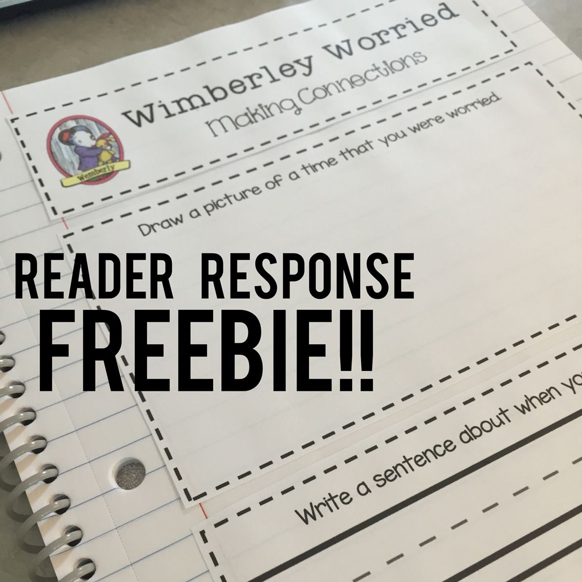 Free Reader Response For Kevin Henkes Wimberley Worried