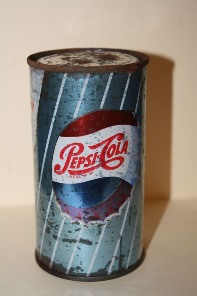Rare 1962 Pepsi Flat Top Pre Pulltab Unopened And Full Pepsi Cola Soda Can Canning Coors Light Beer Can Pepsi Cola