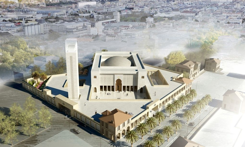 Marseille's Muslims need their Grand Mosque – why is it still a car park? | Mosque architecture, Mosque design, Grand mosque