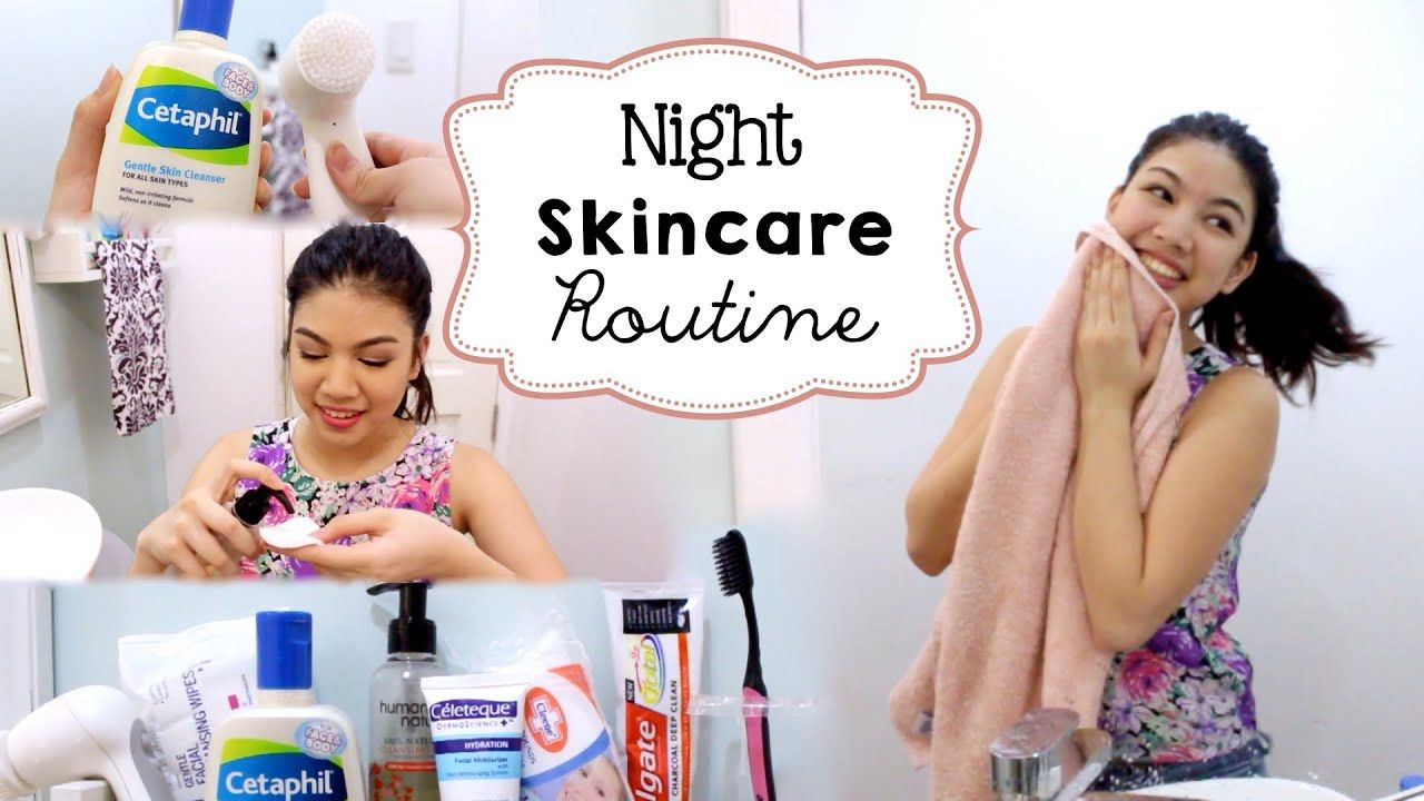 Night Skincare Routine ft. Olay ProX Cleansing System