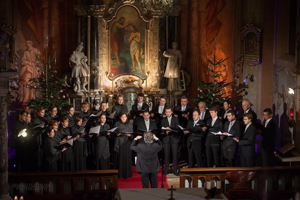 Chamber Choir Ivan Filipovic Kzif Christmas Concert In Zagreb Croatia 2015 Choir Zagreb Concert