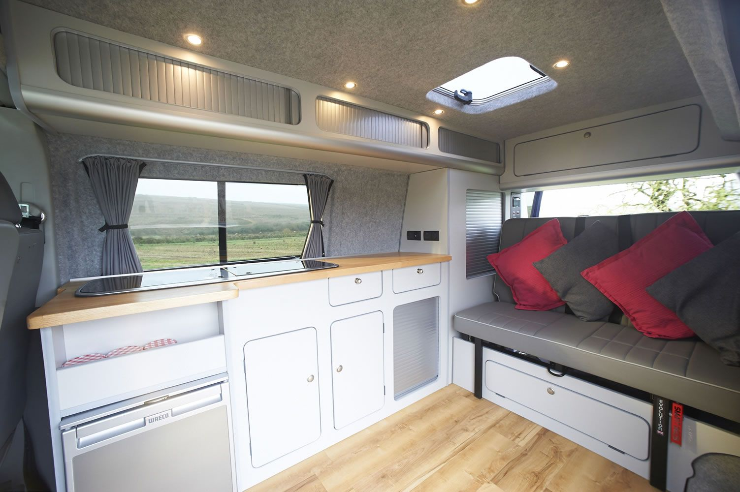 Arredamento Camper ~ Glamping in a campervan celebrates the freedom of the great
