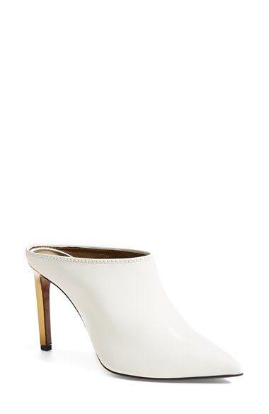 Damens's Lanvin Lanvin Lanvin Pointy Toe Mule, Größe 5.5US   36EU Weiß   Обувь ff815a