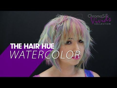 How To Video Watercolor Haircolor Technique Modern Salon