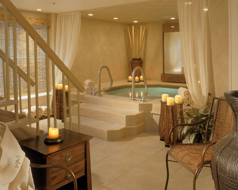 Soaking tub at Shui Spa at Crowne Pointe Historic Inn & Spa ...