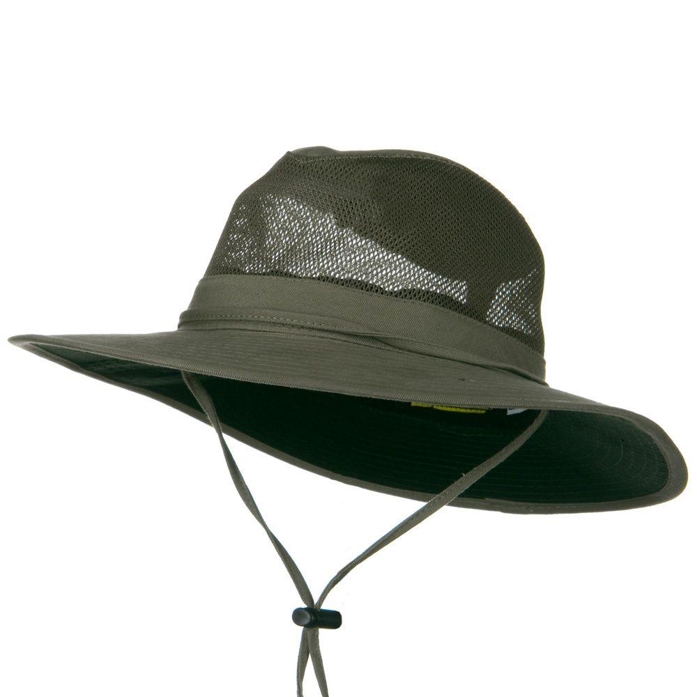 SPF 50 Mesh Safari Hat-Olive  c7052a08eb9
