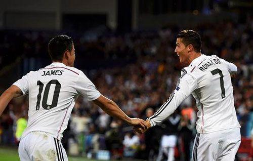 James Rodríguez  & Ronaldo