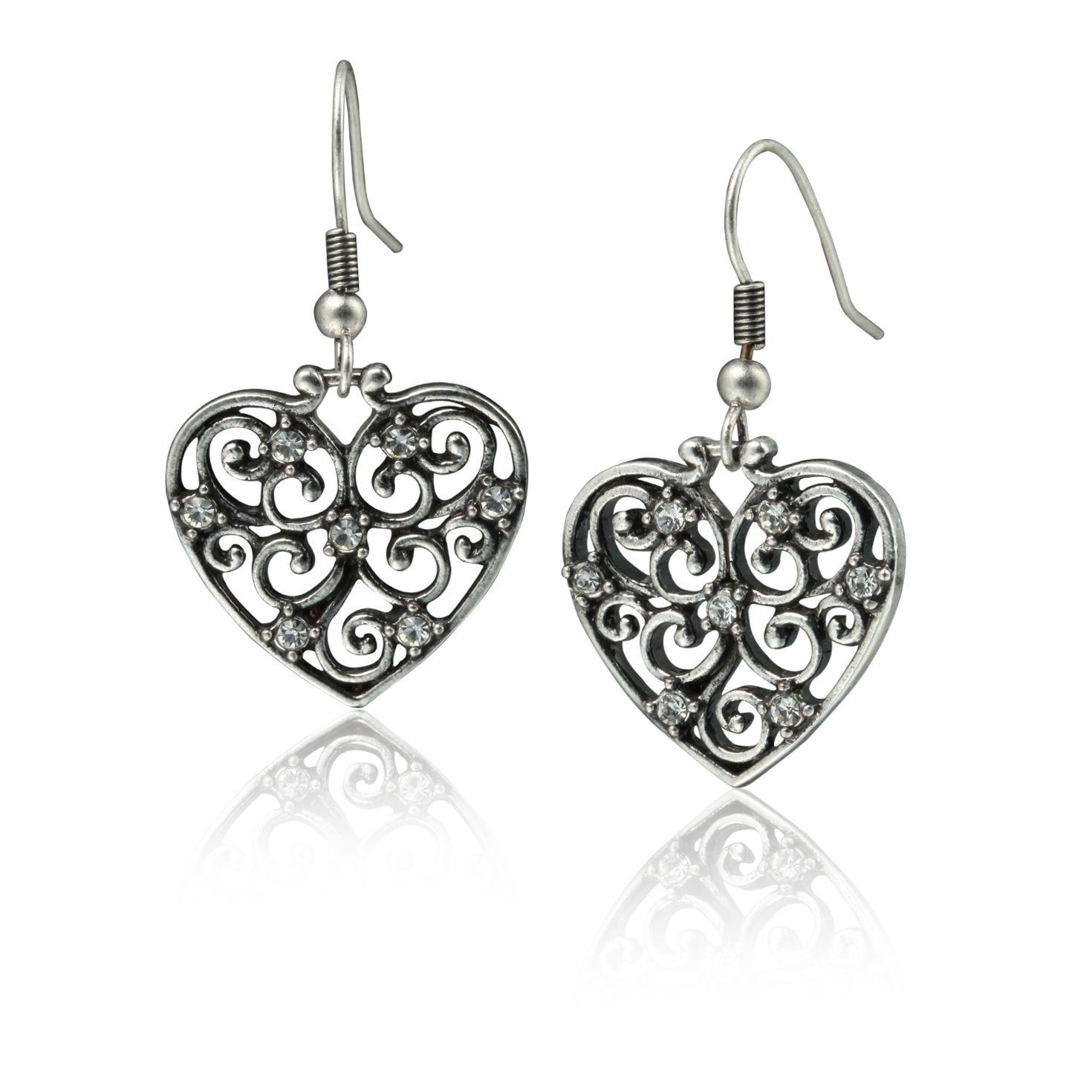 Believe Heart Earrings on SonGear.com - Christian Shirts, Jewelry