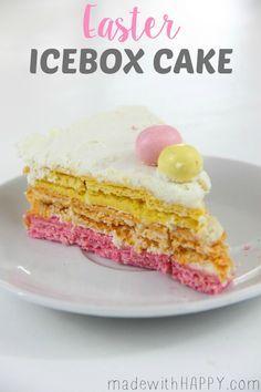 이스터 아이스박스 케이크