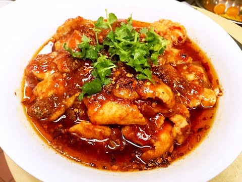 The Most Famous Sichuan Spicy Boiled Fish Recipe 水煮魚 CiCi Li - Asian Home Cooking Recipes - YouTube