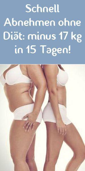 Diäten zum Abnehmen in 15 Tagen