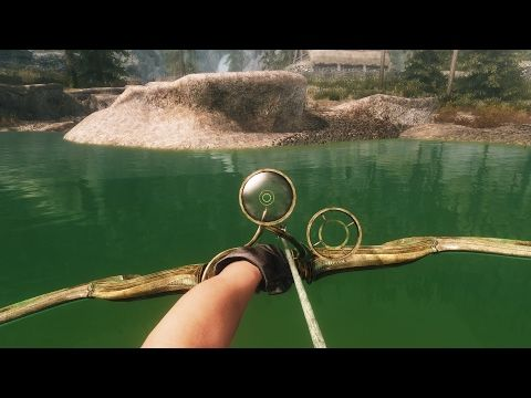 Skyrim - SECRET BOW - Glass Bow Of The Stag Prince (LOCATION) - YouTube