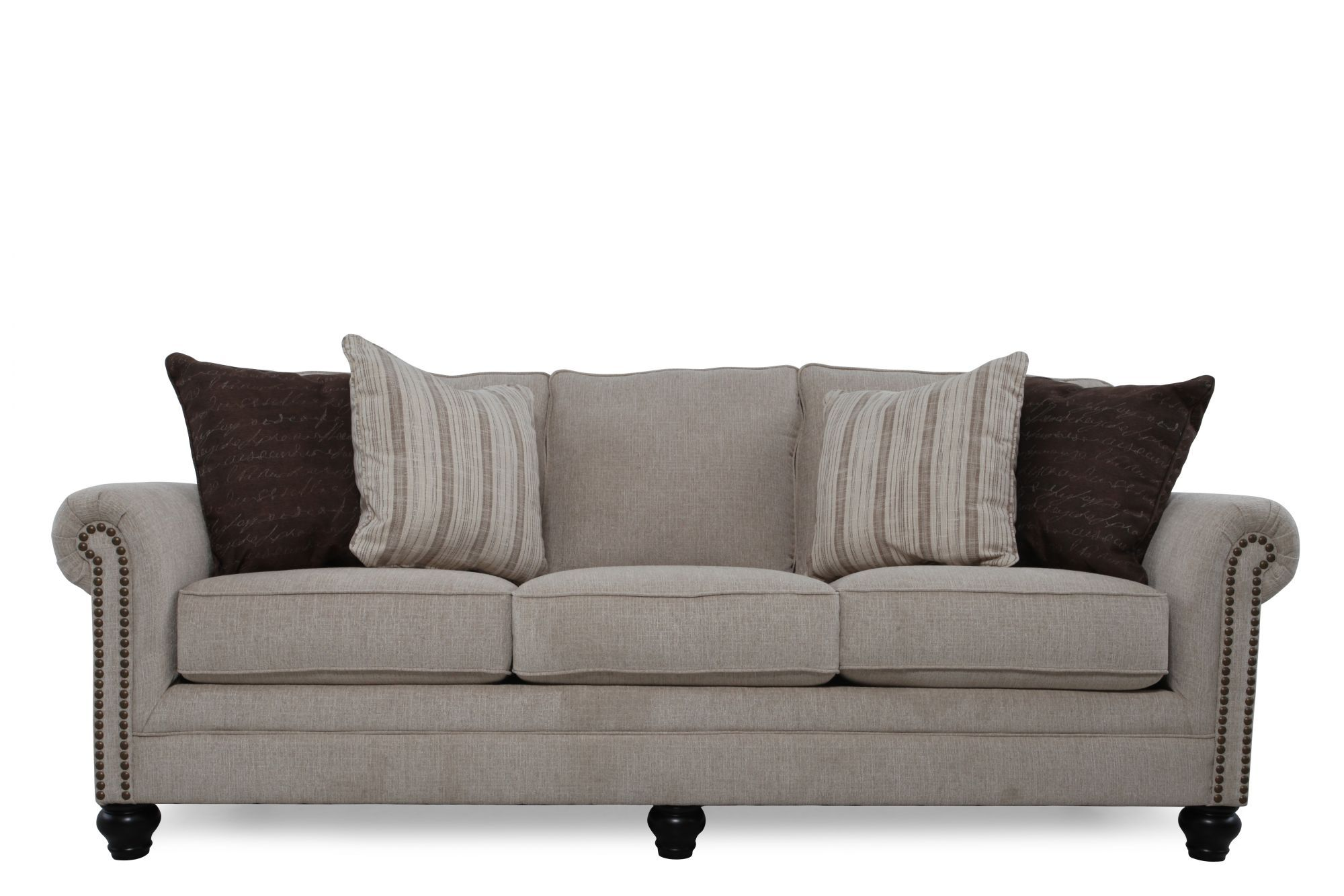 Ashley Milari Linen Sofa Ash 1300038 Www Factorydirect Usa