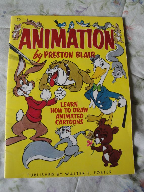 Animation by Preston Blair Learn how to draw animated cartoons ...