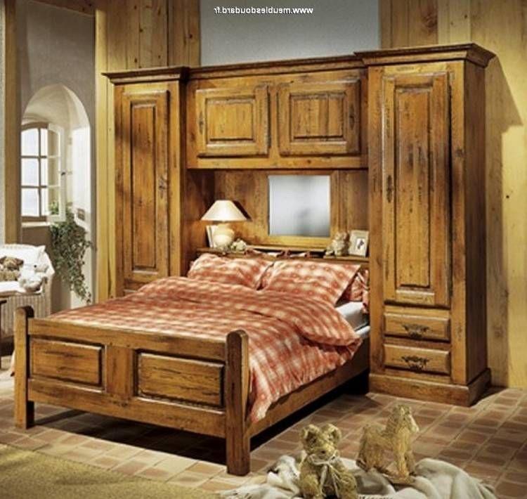 Chambre ŕ Coucher En Bois Massif Avec Images Meuble Chene