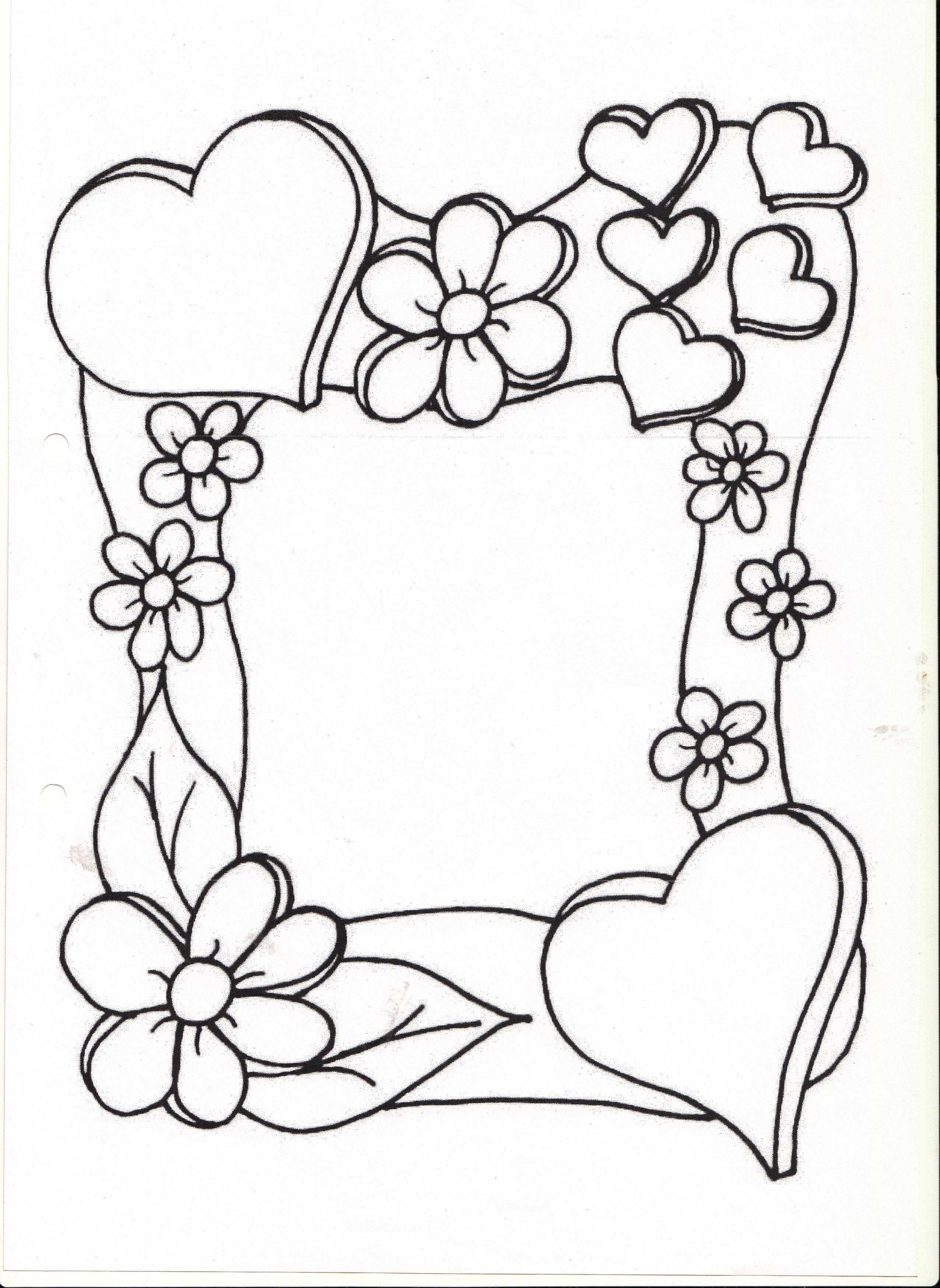Обрамление для открытки раскраска, картинки прикольные