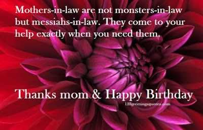 50+ Great Quote For Mother In Law Birthday