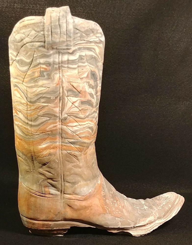 Grand Canyon Stone Rock Western Southwest Cowboy Boot Sculpture Rhpinterest: Cowboy Boot Home Decor At Home Improvement Advice