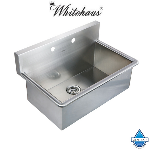 Whitehaus Whnc3120 31 Noah Stainless Steel Laundry Utility Sink