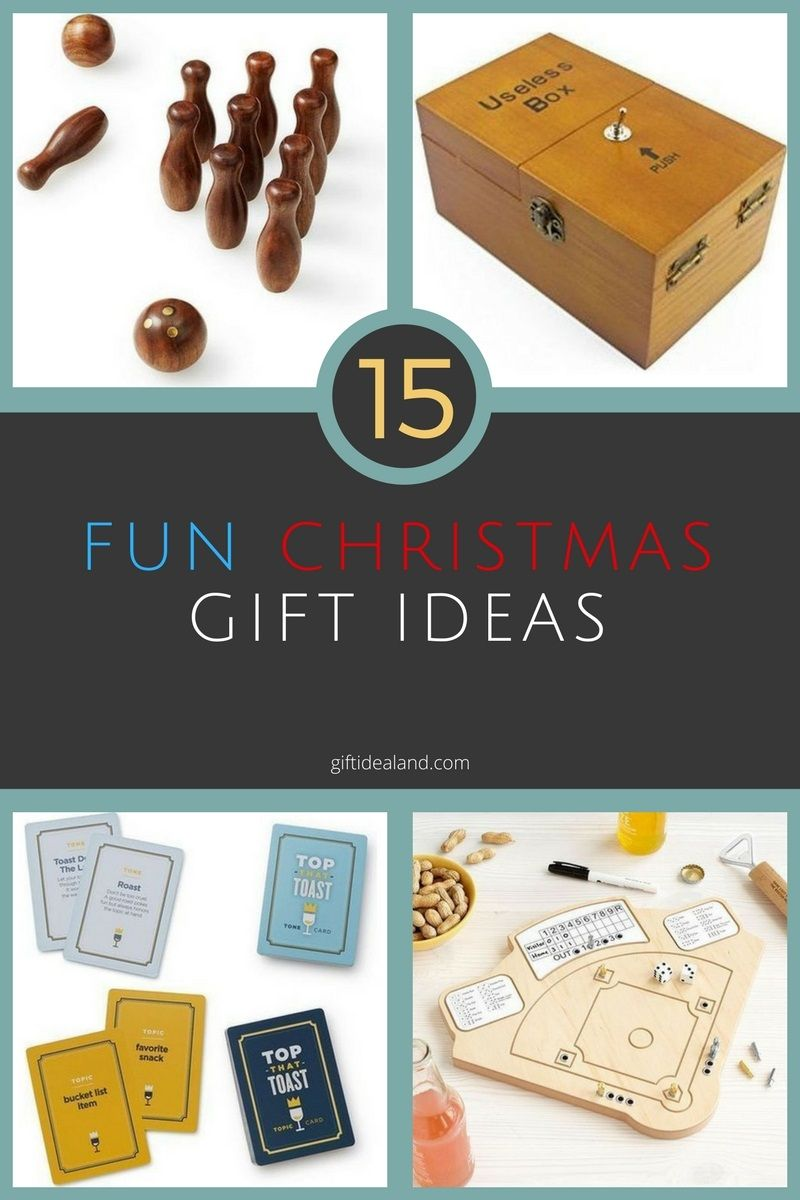 15 Great Fun Christmas Gift Ideas Anyone Will Enjoy