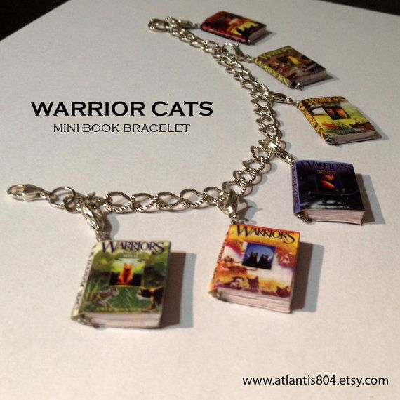 Warriors Erin Hunter Books In Order: Warrior Cats Mini-Book Series Bracelet By Atlantis804 On