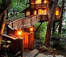 Inspiring picture beautiful, forest, house. Resolution: 400x554 px. Find the picture to your taste!