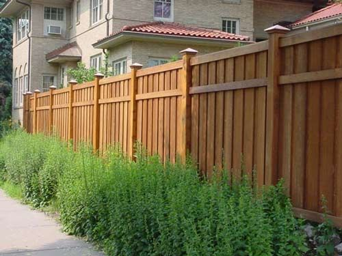 Wood Fencing To Protect Your Garden From Animals Good Neighbor Fence Wood Fence Design Backyard Fences