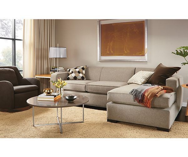 Ian Sofa Chaise Room - Living - Room u0026 Board  sc 1 st  Pinterest : room and board orson sectional - Sectionals, Sofas & Couches
