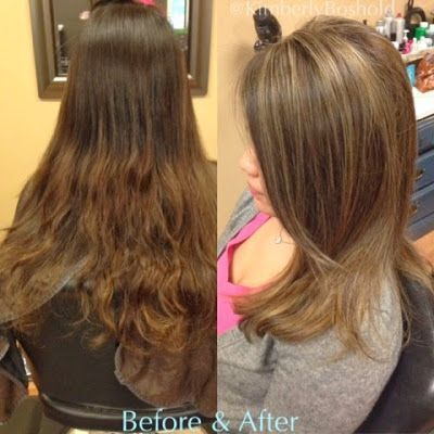 Before: Natural out growth with ombré ends. After: Soft ash blonde with neutral... -  - #Genel #naturalashblonde