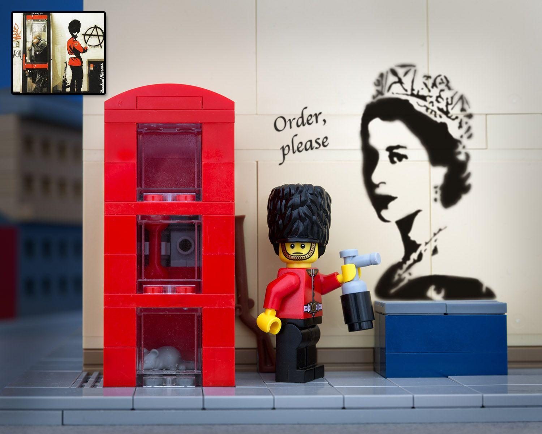 LEGO Banksy - Just Following Orders