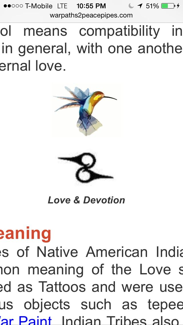 Wedding Ring Tat Native American Symbol For Lovedevotion Tats I